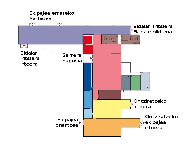 Itsas-bidaiarien terminala