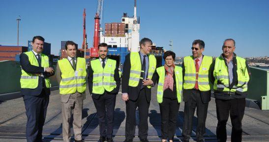 La naviera Finnlines presenta las nuevas oportunidades logísticas de su servicio desde el Puerto de Bilbao  al norte de Europa