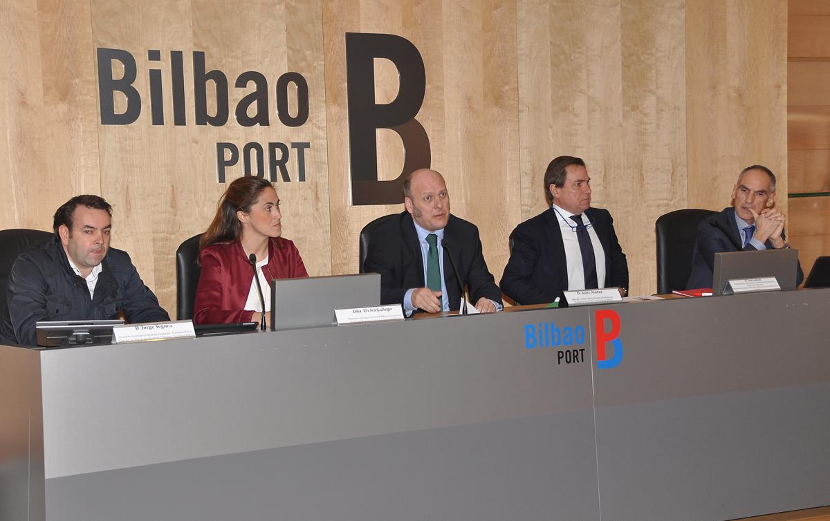 LA AUTORIDAD PORTUARIA DE BILBAO Y NOATUM CONTAINER TERMINAL BILBAO PRESENTAN EL SISTEMA DE ACCESOS AUTOMATIZADOS AL PUERTO DE BILBAO