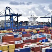 Port of Bilbao receives largest container vessel ever to berth at its docks.