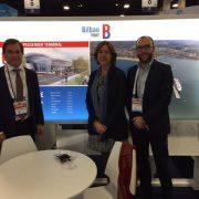 La Autoridad Portuaria de Bilbao presenta su nueva estación marítima en la feria de cruceros más importante del mundo