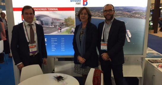 The Port Authority of Bilbao presented its new maritime cruise station at the most important cruise fair in the world