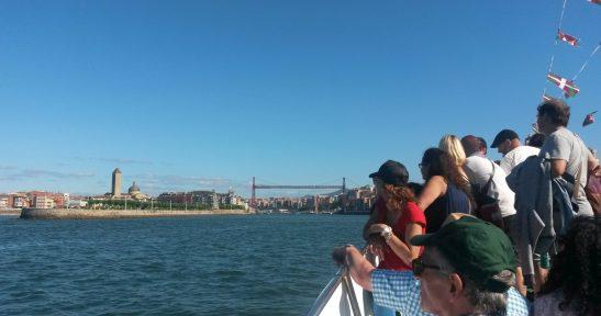 Paseos estivales en bote por Getxo, Portugalete y Santurtzi