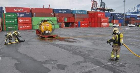 Port Authority assigns 1.2 million euros to Biscay Territorial Council's Firefighting and Salvage Service to respond to emergencies in the Port.