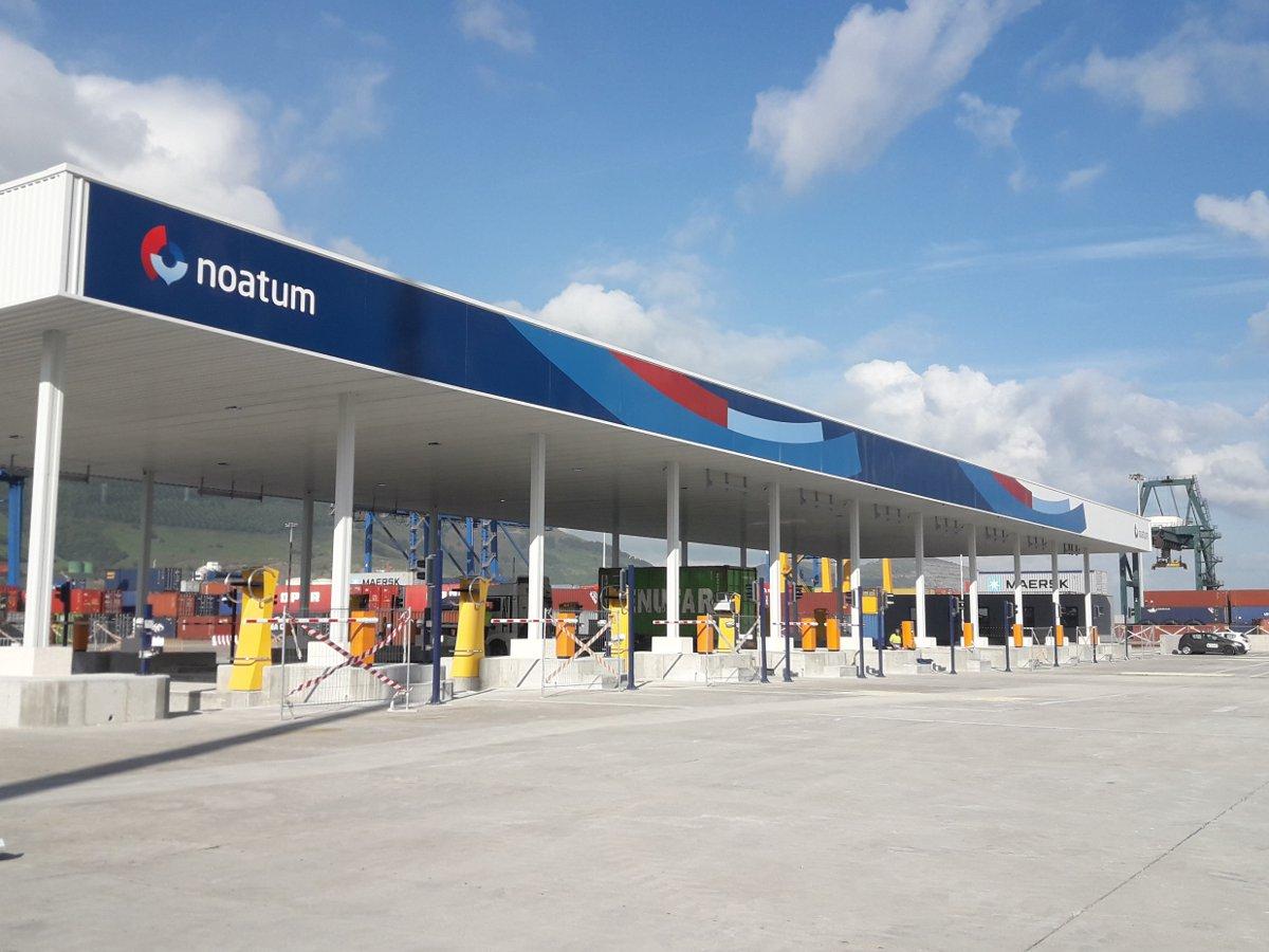Puerta terminal Noatum
