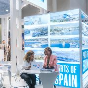 Port of Bilbao increases commercial contacts at most important cruise fair in Europe.