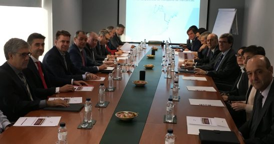 Confederation of Valencian Entrepreneurs presents study on the relevance of an improved rail corridor for goods transport between Valencia and the Basque Country