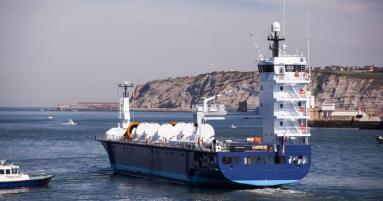 Nordikmaritime celebrates four and a half years of service between Bilbao and Denmark.