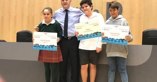 Entrega de premios de la segunda edición del concurso de cuentos Puerto de Bilbao