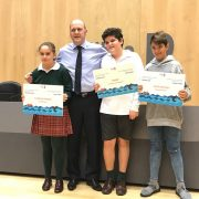 Presentation of awards for second Port of Bilbao Story Competition