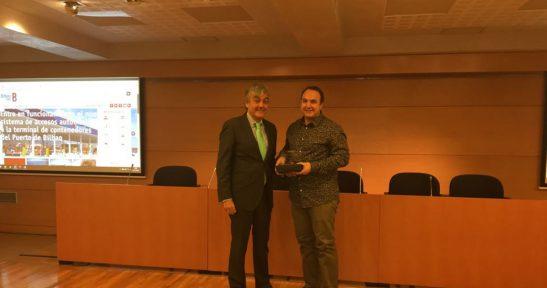 Bilbao Port Authority website recognised as best economic website at DEIA Digital Congress 2017