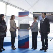 Noatum Container Terminal Bilbao inaugura el sistema de acceso automatizado de camiones a la terminal