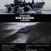 """El famoso buque """"Bob Barker"""" atracará en la terminal de cruceros de Getxo este fin de semana"""