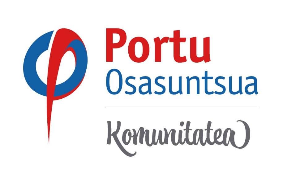 Logotipo Portu Osasuntsua Komunitatea