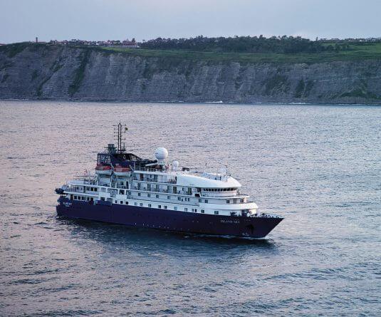 Cruise ship Island Sky