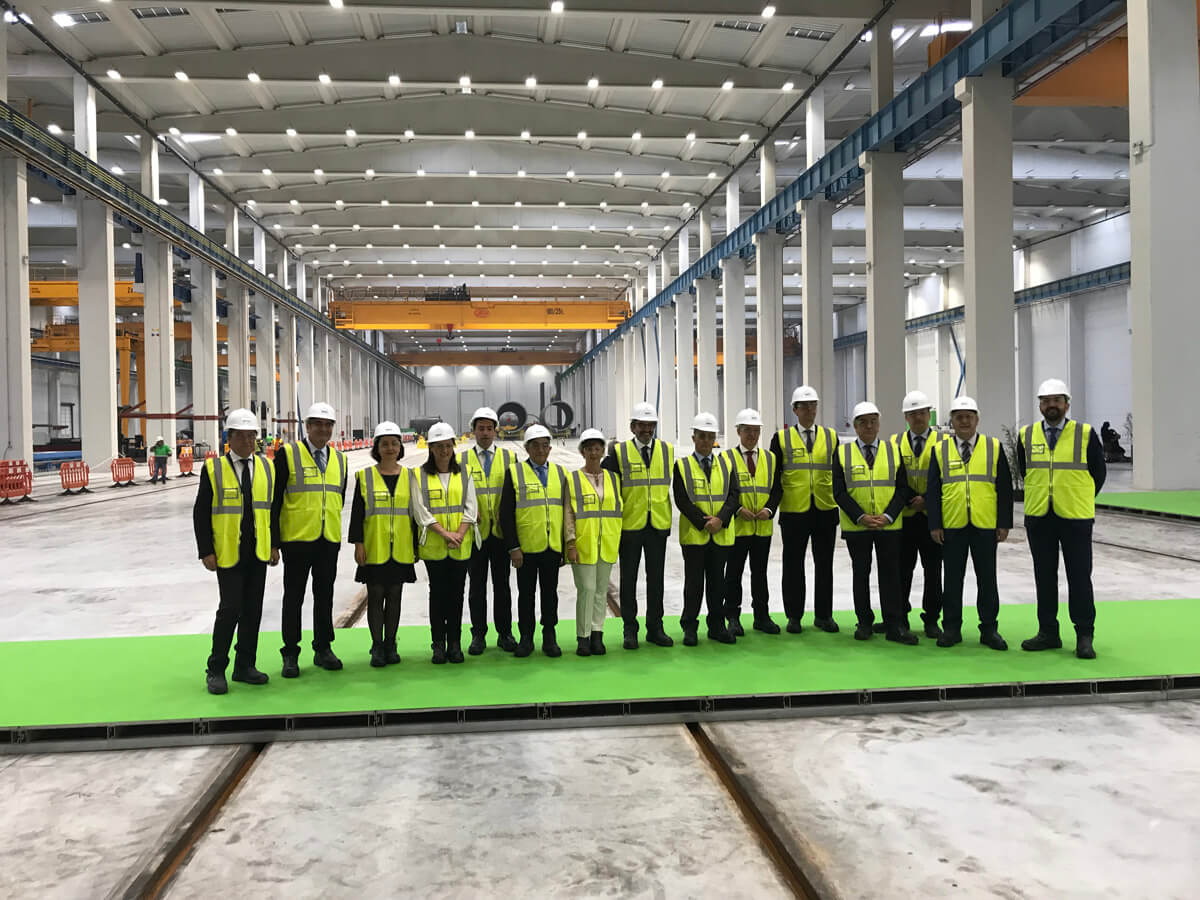 Haizea Wind inaugurates at the Port of Bilbao one of the