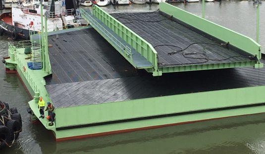 New ro-ro ramp