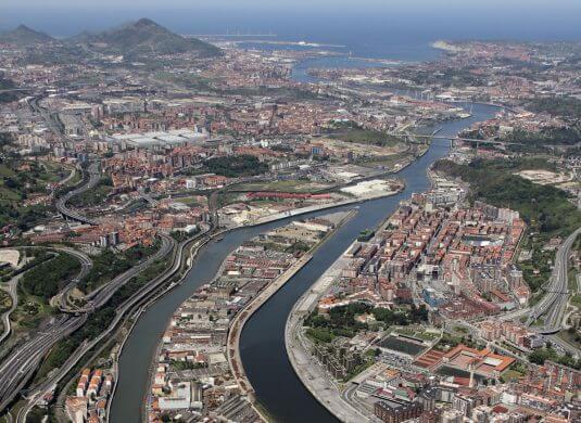Zorrotzaurre and Deusto Canal
