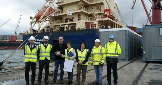 Volans Logistics, representada por Agunsa, refuerza su apuesta por el Puerto de Bilbao con la adquisición de dos buques para el servicio Condor con Sudamérica