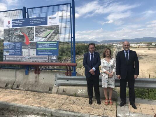 Antonio Aiz, Pilar García de Salazar y Asier Atutxa