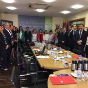 El Puerto de Bilbao y Mercabilbao se reúnen con representantes de embajadas de países americanos, africanos y asiáticos para captar más tráficos agroalimentarios