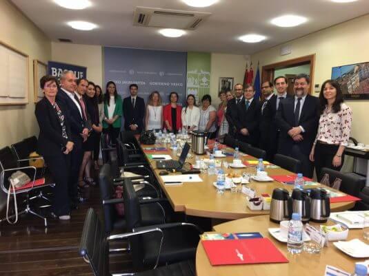 Reunion con embajadores para productos alimentarios