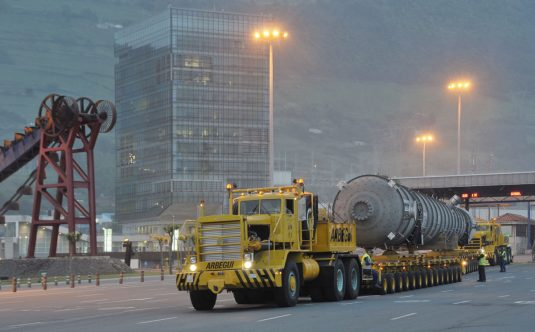 Heavy loads transport