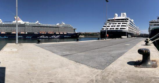 El Puerto de Bilbao recibe tres cruceros  con cerca de 5.000 pasajeros