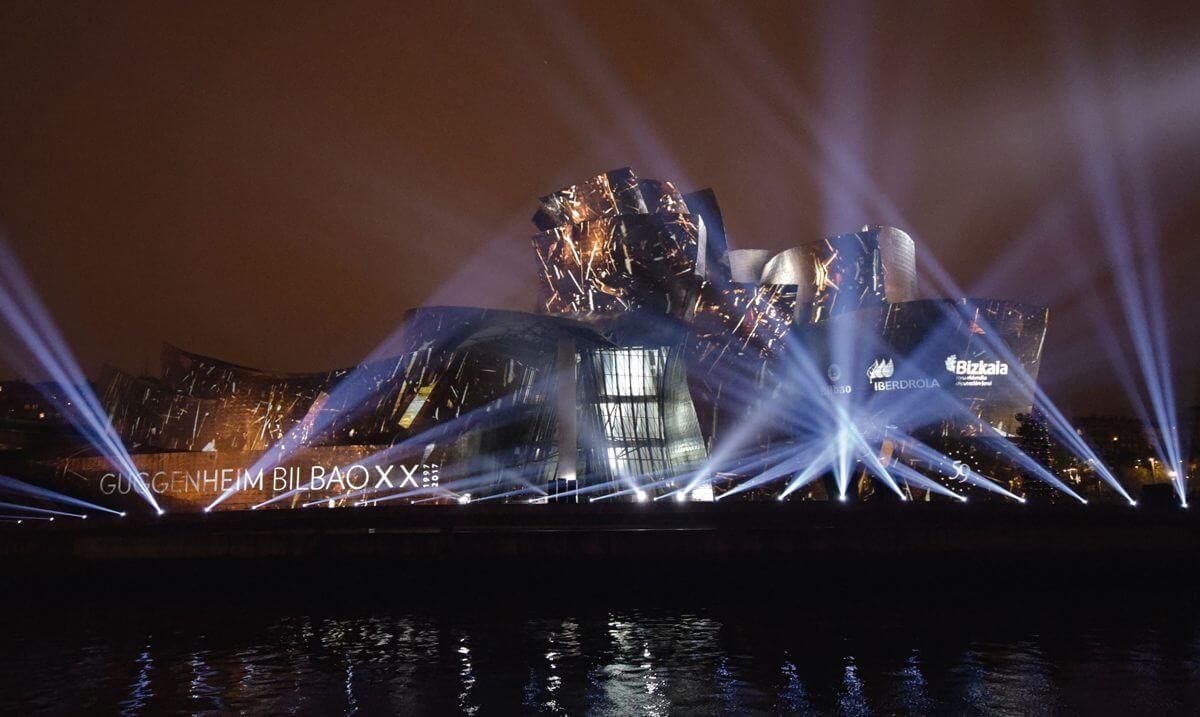 Celebración del 20 aniversario del Guggenheim Bilbao