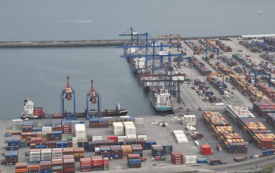 Port of Bilbao container terminal