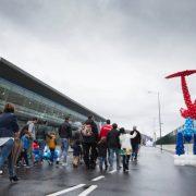 La terminal de cruceros de Getxo será, el domingo día 28, un parque temático sobre el Puerto de Bilbao