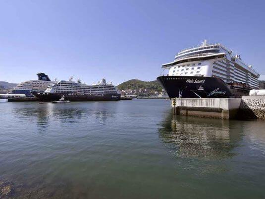 Puerto Bilbao 3 cruceros