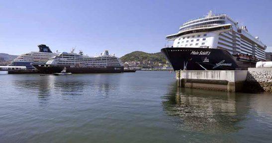 El Puerto de Bilbao cierra  una temporada récord de cruceristas