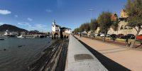 Getxo: promenade in the area of Punta Begoña