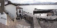 The Old Port neighborhood in Algorta