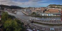 Bilbao: the river Nervión and Zorrotzaurre Island