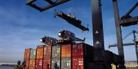 Containers and helicopters