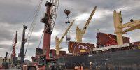 Principe de Asturias kaia: siderurgi-gaiak