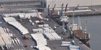 AZ3 dock: windmill parts.