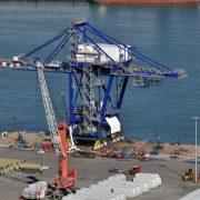 El Puerto de Bilbao acoge la mayor operación de carga de una pieza unitizada