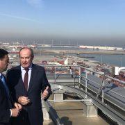 La Autoridad Portuaria de Bilbao y la Diputación Foral de Bizkaia acuerdan mejorar la accesibilidad al Puerto y aprovechar las tierras excedentarias de las obras de Diputación