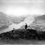 El Gobierno Vasco, el Ayuntamiento de Barakaldo y la Autoridad Portuaria de Bilbao acuerdan conservar y promocionar los cargaderos de mineral de Barakaldo
