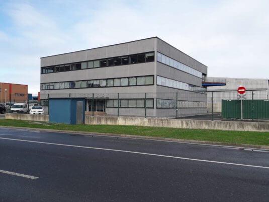 Edificio que acogerá el Centro de Innovación