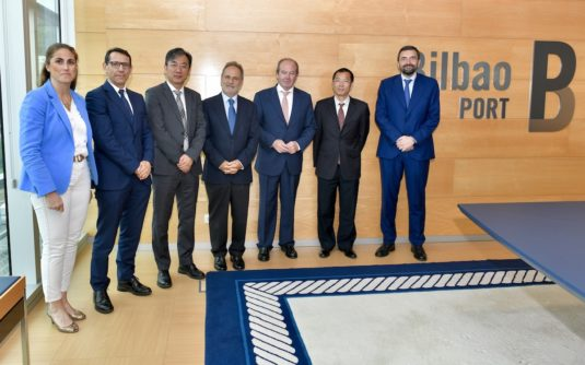 Visita al Puerto de Bilbao