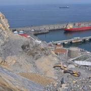 La Autoridad Portuaria de Bilbao finalizará en las próximas semanas las obras de la primera fase del Espigón Central y de la Estabilización de la antigua cantera de Punta Lucero