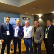 Representantes del Puerto de Bilbao participan en la bolsa internacional de cereales del Duero para promover el tráfico agroganadero