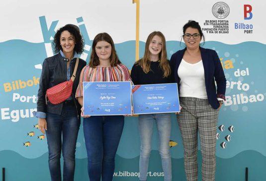 Entrega de premios del IV concurso de cuentos del Puerto de Bilbao