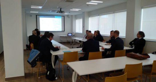Primera reunión del comité Bilbao PortLab