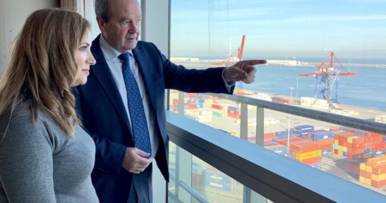 Basque Minister visits Port of Bilbao