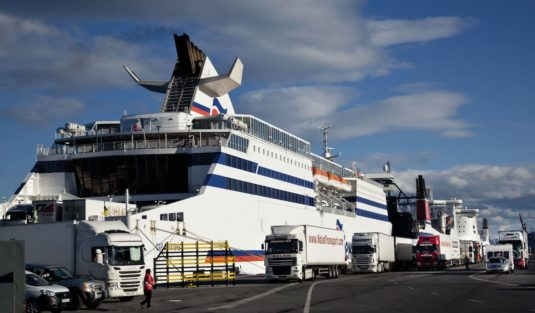 The Brittany Ferries´ vessel CAP FINISTERE